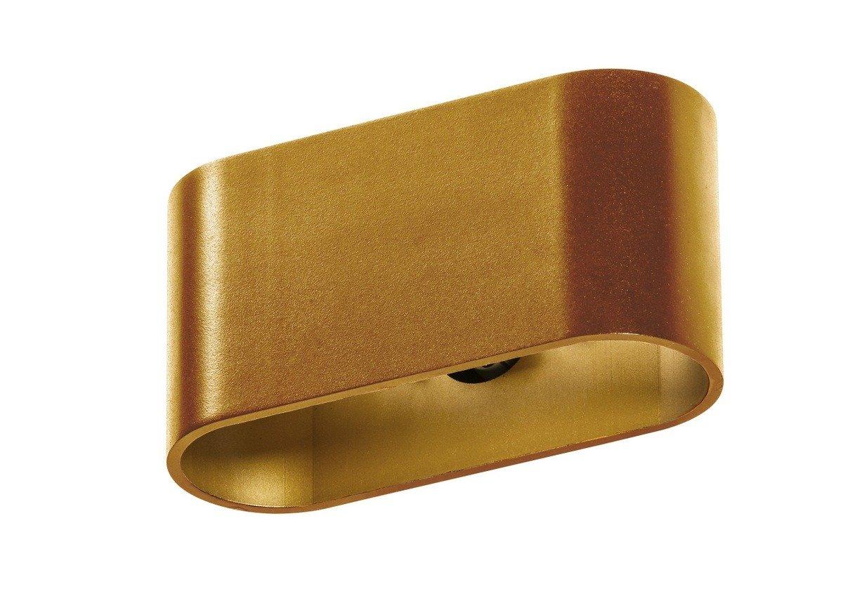 Azzardo Vega Gm1121 Ago Kinkiet Złoty Kosmicznelampypl