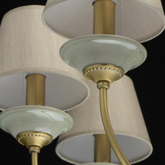 Żyrandol 8 płomienny MW-Light Classic 713010608