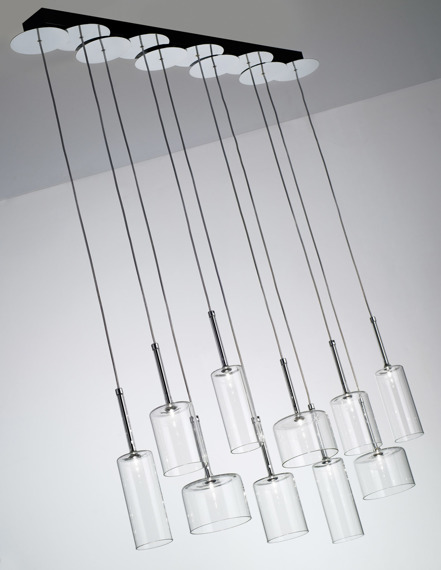 AXO Light Spillray SP 10 Zwis  przezroczysty
