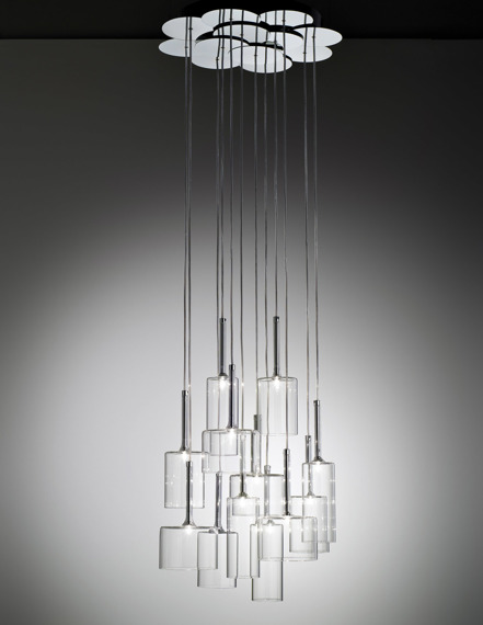 AXO Light Spillray SP 12 Zwis  przezroczysty