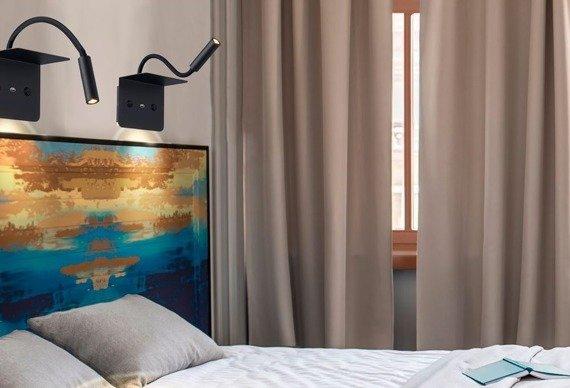 Azzardo Lampa ścienna Vera w kolorze czarnym AZ3201