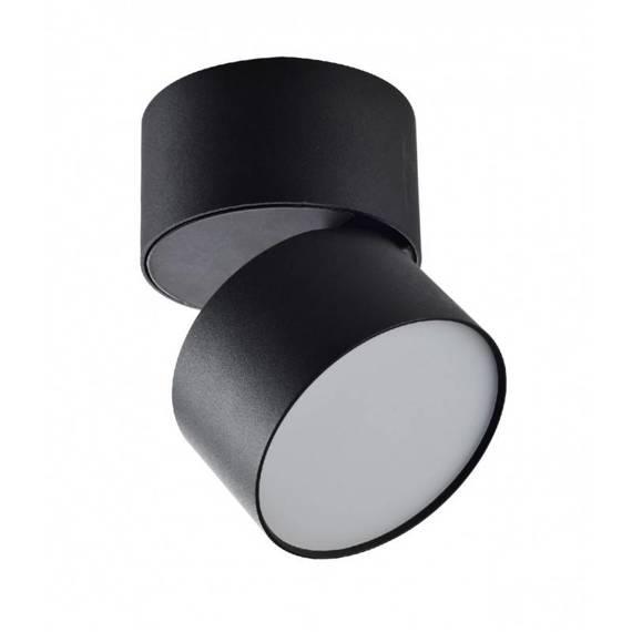 Czarny Spot Ledowy Berella Light Rotu 9W BK BL5197