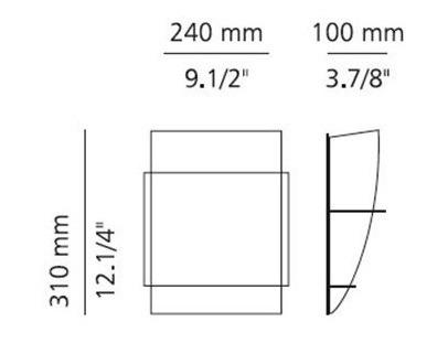 ESTILUZ TA-8073A Lampa Ścienna