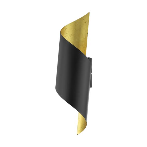 Eglo Yabaloyas 39654 Lampa ścienna czarno-złota