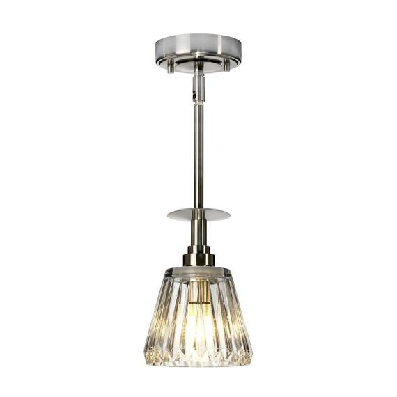 Elstead Lighting Agatha BATH/AGATHA1P BN Lampa wisząca