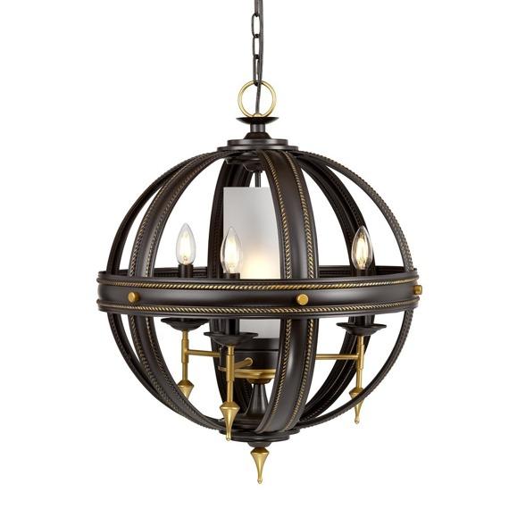 Elstead Lighting Regal REGAL4 Lampa wisząca