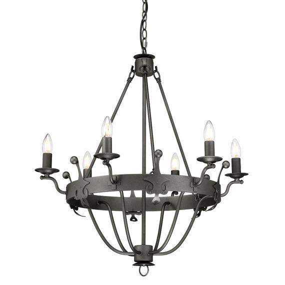 Elstead Lighting Windsor WINDSOR6-GR Lampa wisząca