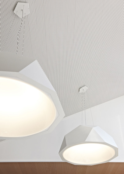 Fabbian CRIO D81 A01 01 white Lampa wisząca