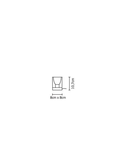 Fabbian CUBETTO CRYSTAL D28 B03 00 Lampka