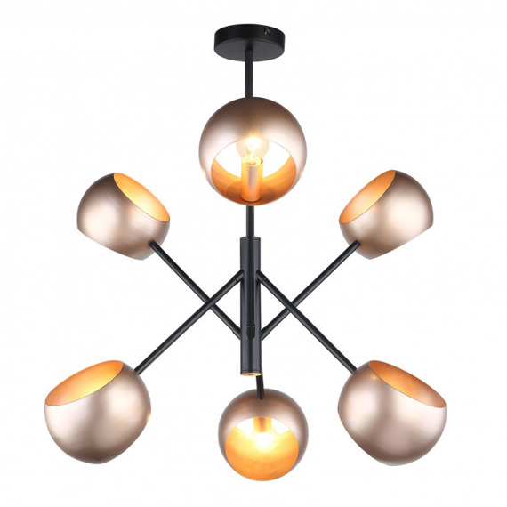 Italux Cavazza Mdm-3690/6 Lampa Wisząca