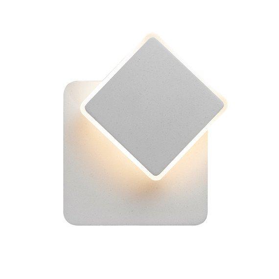 Italux Senato Ledowy kinkiet geometryczny