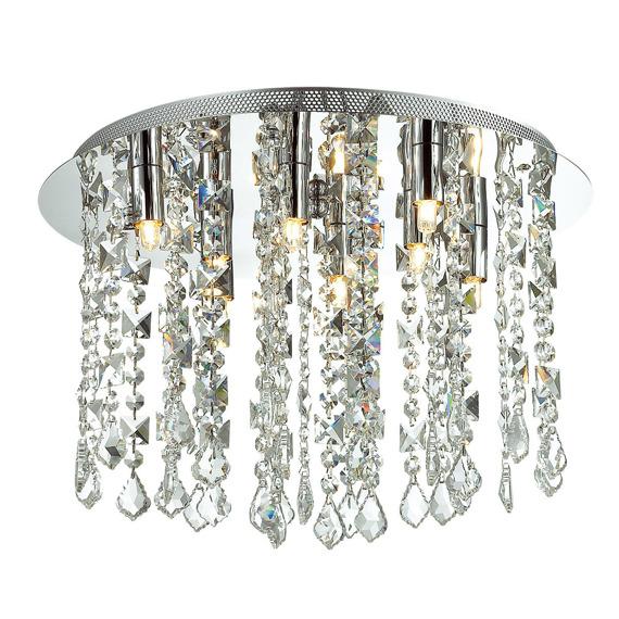 Italux Shiraz  MA05092C-008 Lampa Sufitowa Kryształowa