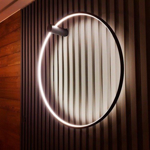 Kinkiet Ledowy Ramko Echo 67946 kolor czarny 120 cm