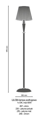 Lampa Podłogowa Amplex LILOSA