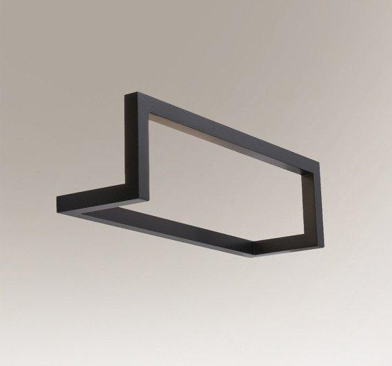 Lampa ścienna Shilo Zaosu 7904 Czarny