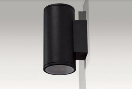 Lampa ścienna zewnętrzna czarna Azzardo Joe Wall 2 AZ3320