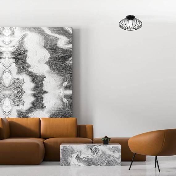 Lampa sufitowa Milagro Black MLP4425