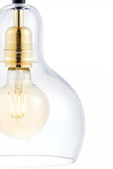 Lampa wisząca-listwa Kaspa Longis 4 10876405 Złota