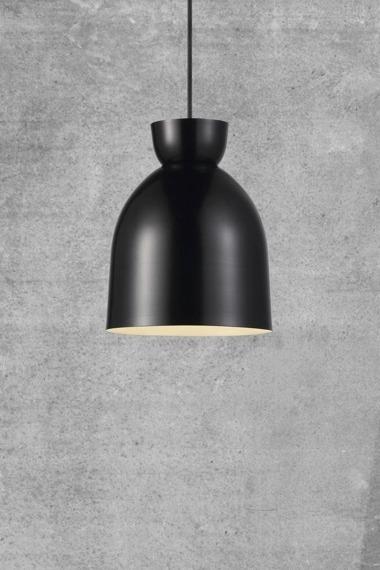 Lampa wisząca z czarnym kloszem Circus 46403003 Nordlux