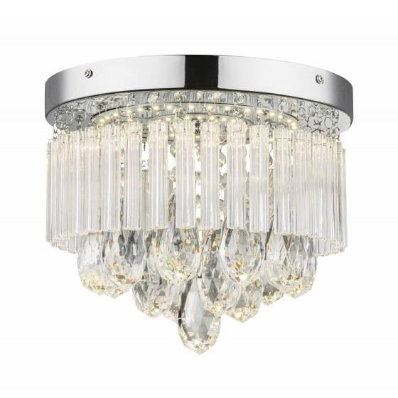 Ledowa lampa sufitowa Globo Lighting Manilo 68598A