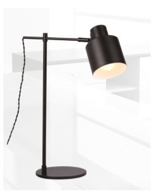MaxLight Black T0025 Lampka stolikowa