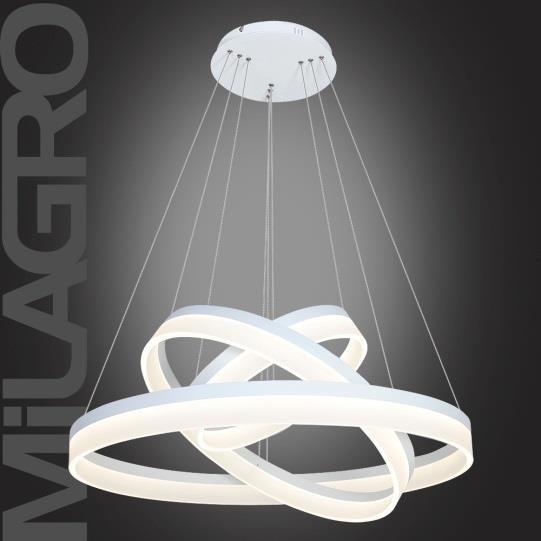 Milagro Ring 4080 Lampa wisząca z pilotem