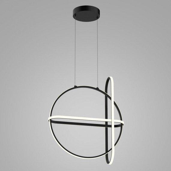 Nowoczesna Lampa wisząca w kolorze czarnym Italux Cerrila LED