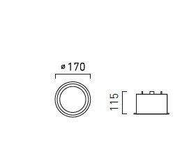Oprawa Podtynkowa Fusion L111 NW biała