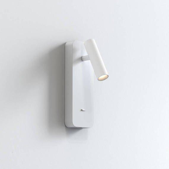 Oprawa Ścienna Astro Enna Surface USB 1058154 Biały
