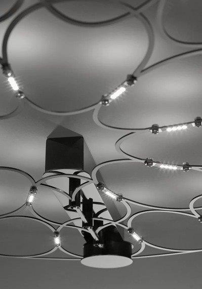 Sforzin Lafra Grande Cromo Lampa Sufitowa