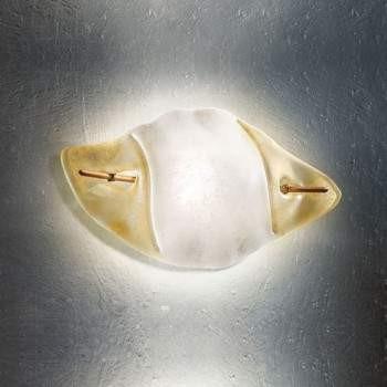 Sillux FIRENZE LP 6/212 C bursztynowy/miedziany 45 x 22 cm Lampa Ścienna