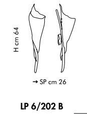 Sillux KINGSTON LP 6/202B 02/22 miedziana Lampa Ścienna 64 cm