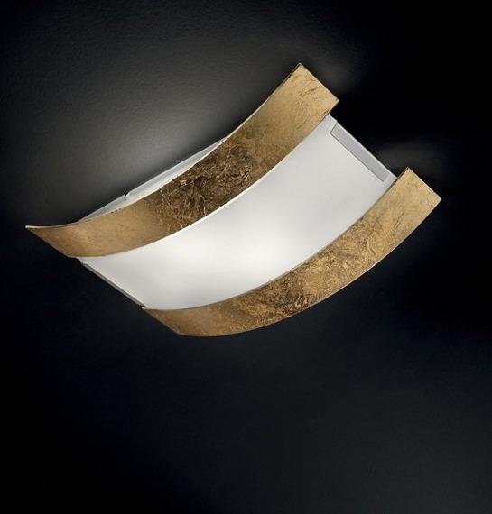 Sillux NEW YORK LS 5/232 Lampa Sufitowa złota 50 cm