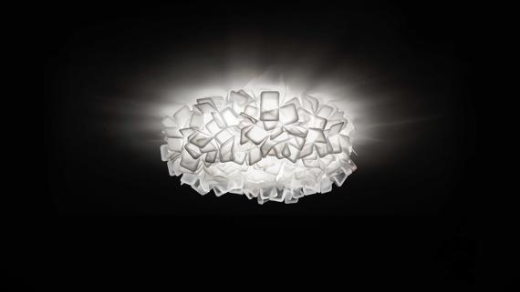 Slamp Clizia duża biała Lampa Sufitowa