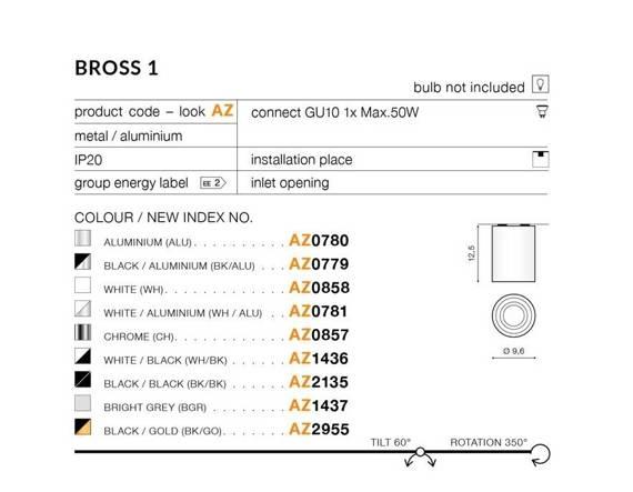 Tuba Azzardo BROSS 1 AZ0781