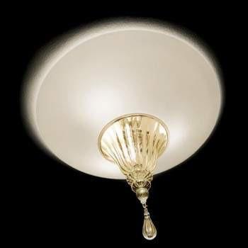 Vintage POISON 60 Lampa Sufitowa bianco/oro