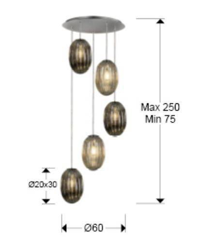 Zwis Schuller Ovila 752268 Dimmable
