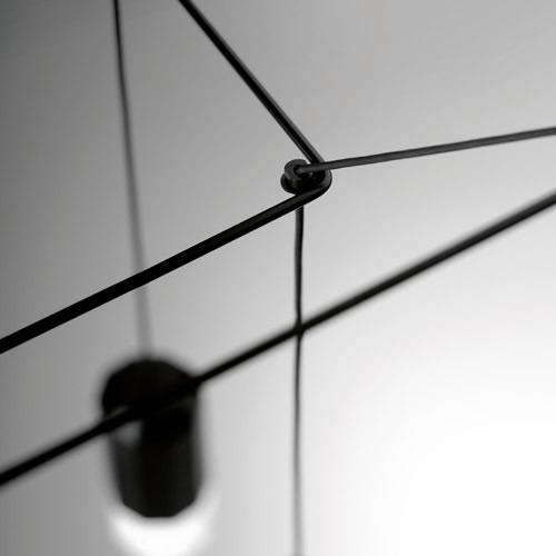 Zwis Wireflow 0310-04 Vibia czarna 80 cm
