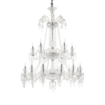 Żyrandol kryształowy Ideal lux Redentore SP18