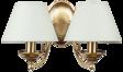 Ekskluzywna lampa ścienna Kutek Casamia CAS-K-2(P/A) Patyna