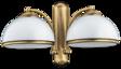 Lampa ścienna Kutek Obd OBD-K-2(P) Patyna
